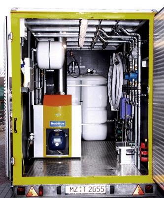 Ölheizkessel mit Öltank als Heizung sowie Warmwasserversorgung für den idealen Einsatz bei größeren Objekten mit einer Leistung bis zu 200 kW! Ölheizkessel mit Öltank als Heizung sowie Warmwasserversorgung für den idealen Einsatz bei größeren Objekten mit einer Leistung bis zu 200 kW!