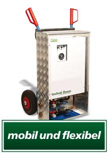 Notheizungen von 3 kW bis 25 kW